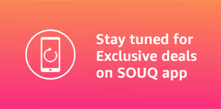 Stay tuned for Exclusive deals on SOUQ app