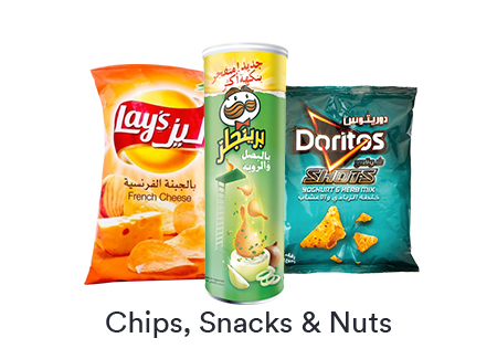 Chips, Snacks & Nuts